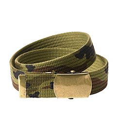 Statements Boys' Camo Slider Belt