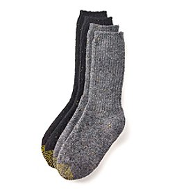 GOLD TOE® 2-Pack Marled Boot Socks
