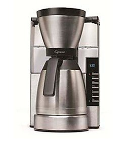 Capresso MT900 10-Cup Rapid Brew Coffee Maker with Thermal Carafe