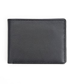 Royce® Leather RFID Blocking Bifold Credit Card Wallet