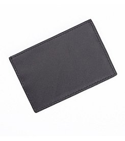 Royce® Leather RFID Blocking Business Card Case Wallet