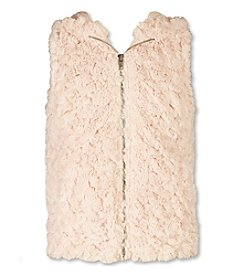 Speechless® Girls' 7-16 Hooded Faux Fur Vest