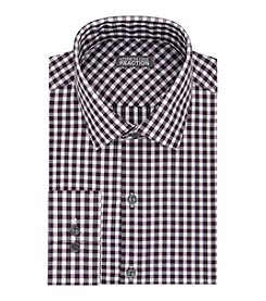Kenneth Cole REACTION® Men's Wine Check Dress Shirt
