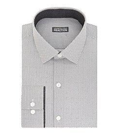 Kenneth Cole REACTION® Men's Charcoal Print Dress Shirt
