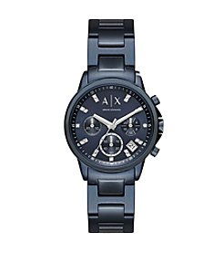 A|X Armani Exchange Stainless Steel Sunray H-Link Bracelet Watch