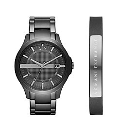 A|X Armani Exchange Stainless Steel Y-Link Bracelet Watch