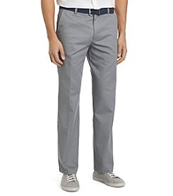 Izod® Men's Flat Front Straight Fit Chino Pants