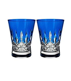Waterford® Set of 2 Lismore Pops Double Old Fashioned Glasses