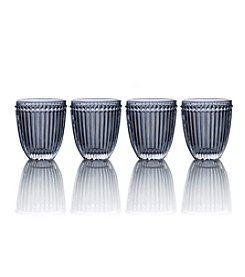 Mikasa® Italian Countryside Set of 4 Smoke Double Old Fashioned Glasses