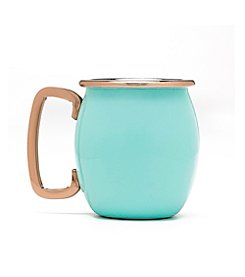 Fiesta 4-pc. Turquoise Copper Moscow Mule Shot Mugs