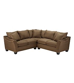 HM Richards Bryant 3-pc. Espresso Sectional