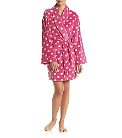 PJ Couture® Dots Printed Robe