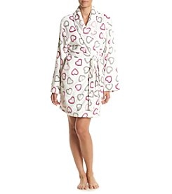 PJ Couture® Hearts Printed Robe
