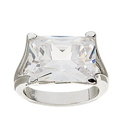 Glamour Rings Prong Set Cubic Zirconia Stone Ring