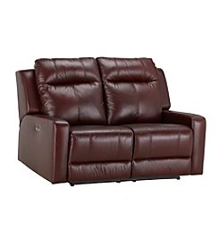 Palliser® Redwood Power Reclining Loveseat with Power Headrest