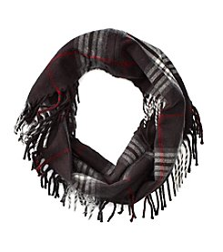 V. Fraas Loop Side Fringe Scarf