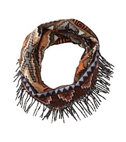 V. Fraas Side Fringe Loop Scarf