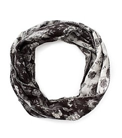 V. Fraas Mini Floral Loop Scarf