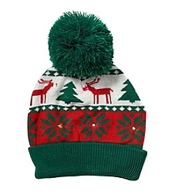 Collection 18 Holiday Lights Beanie