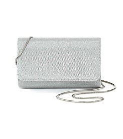 La Regale® Shimmer Small Flap Clutch