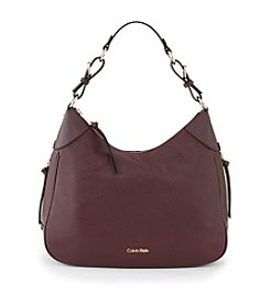 Calvin Klein Pebble Leather Hobo