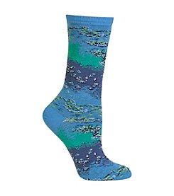 Hot Sox® 1 Pair Monet Water Lillies Trouser Socks