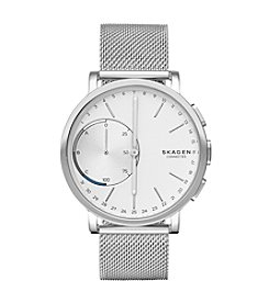 Skagen Men's 42mm Hagen Connected Stainless Steel Hybrid Smartwatch