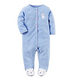 Carter's® Baby Girls' Kitty Footie