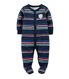 Carter's® Baby Boys' Striped Wild One Footie