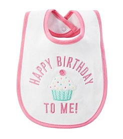 Carter's® Baby Girls' Happy Birthday To Me! Bib
