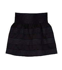 Amy Byer Girls' 7-16 Striped Skirt