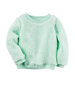Carter's® Girls' 2T-8 Sherpa Top