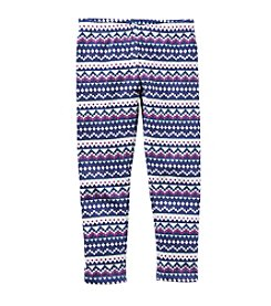 Carter's® Girls' 2T-8 Fairisle Leggings