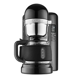 KitchenAid® KCM1204OB 12-Cup Drip Coffeemaker + $20 Back by Mail see offer details