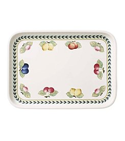 Villeroy & Boch® French Garden Baking Rectangular Serving Plate With Lid