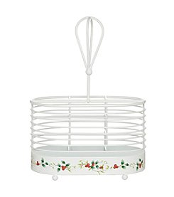 Pfaltzgraff® Winterberry Napkin And Flatware Caddy