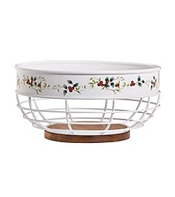 Pfaltzgraff® Winterberry Bread Basket