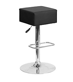 Flash Furniture Backless Square Adjustable Height Barstool