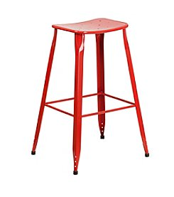 Flash Furniture Metal Indoor-Outdoor Barstool