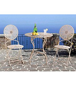 Sunjoy Soda Steel 3-pc. Bistro Set
