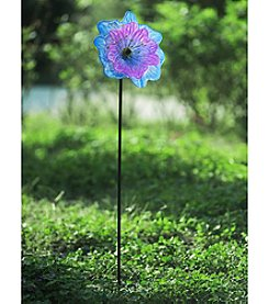 Sunjoy Glass Flower Garden Stake