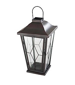 Sunjoy Metal and Glass Carriage Lantern