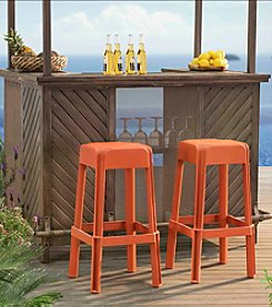 Sunjoy Set of 2 Stools