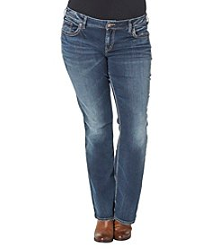 Silver Jeans Co. Plus Size Suki Mid Boot Jeans