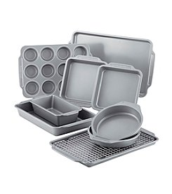 Farberware® 10-pc. Nonstick Bakeware Set with Cooling Rack