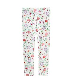 Mix & Match Girls' 2T-6X Floral Leggings