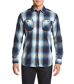 Ruff Hewn Men's Ripstop Plaid Workshirt