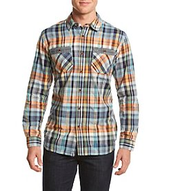 Ruff Hewn Men's Ikat Long Sleeve Workshirt