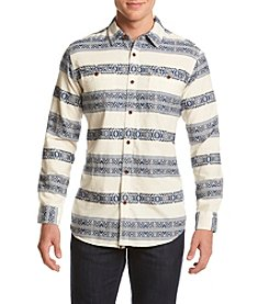 Ruff Hewn Men's Dobby Stripe Workshirt