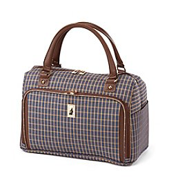 London Fog® Kensington Plaid Cabin Bag